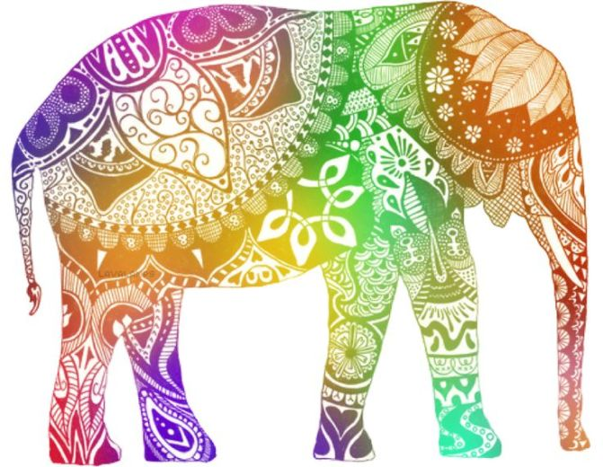 Multicolored Elephants in the Room